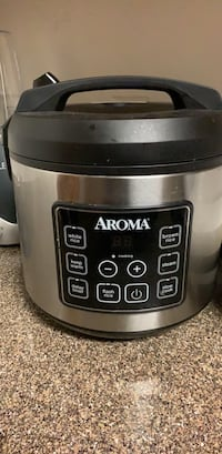 stainless steel and black Aroma slow cooker Tucson, 85719