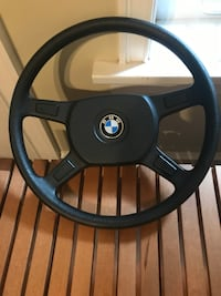 Old School 1980s Genuine E30 BMW Steering Wheel