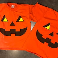 Adult size medium pumpkins shirts  West Jordan, 84081