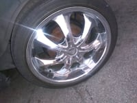 """20"""" rims with tires good condition Los Angeles, 90002"""