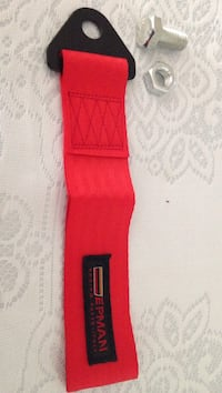 red Epman Racing strap