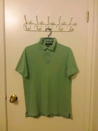 Ralph Lauren Polo: Cotton Shirt, Green (S) Waterloo, N2K 3S1