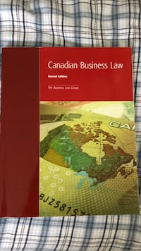 Humber Business Law Textbook  Vaughan, L4H 0H3