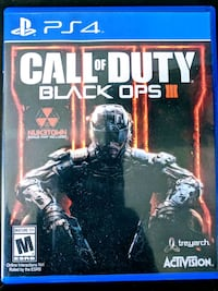 Call of Duty black ops 3, PS4 game Coquitlam, V3E 3H1