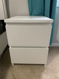 Two 2-drawer chest for sale!