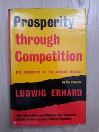 Prosperity through competition LUDWIG ERHARD Istanbul