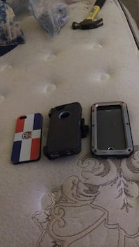 3 iPhone 5 cases water proof and otter box  Chester, 23831