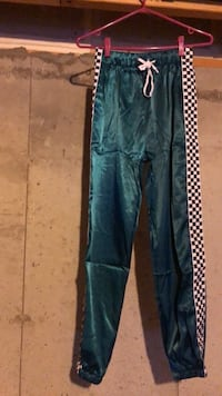 Satin Side Checkered Joggers Newmarket, L3X 3C2