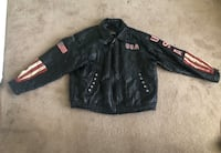 Genuine Leather motorcycle jacket XXXL Manassas, 20111