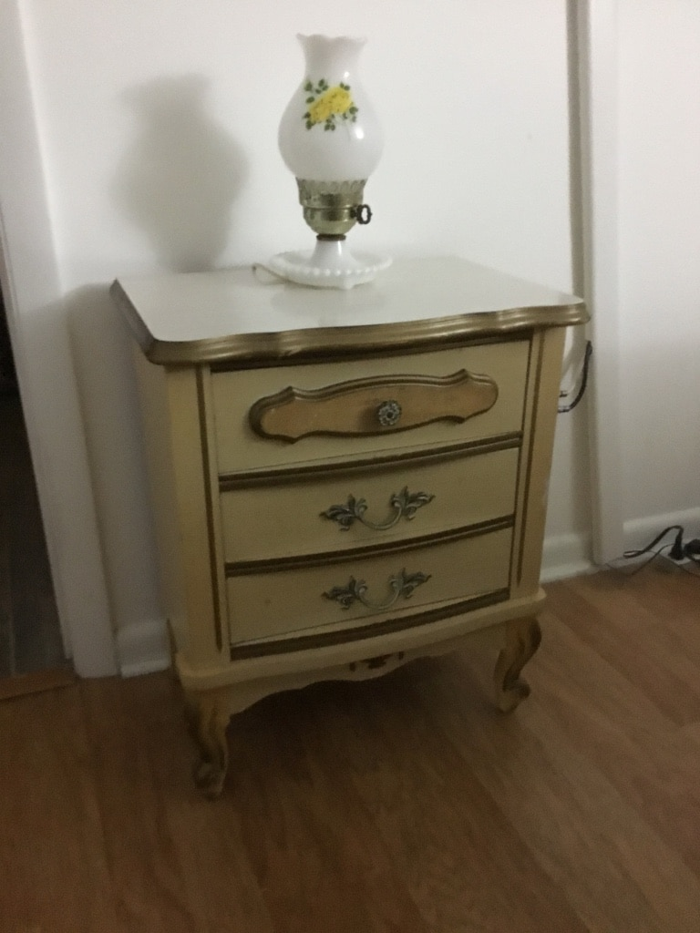 used vintage sears bonnet french provincial side table for sale in rh us letgo com