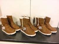 pair of brown leather boots Bradford West Gwillimbury, L3Z