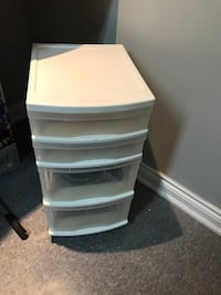 4 Drawer Rubbermaid Storage  Toronto, M9W 3W7