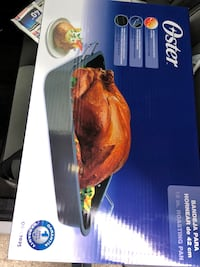 oster 16 inch roasting pan brand new