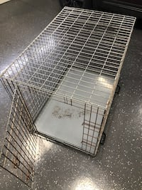 Large Portable dog crate 28x42x28