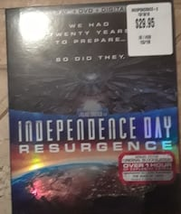 Independence Day Resurgence Blue Ray
