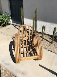 Kid sized vintage bamboo pretzel chair Los Angeles, 91040