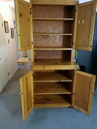 brown wooden shelf with cabinet Virginia Beach, 23452