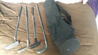 5&9 iron, 2 putters with bag Newport News, 23602