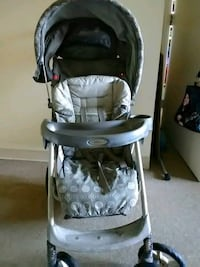 baby's black and gray stroller Norfolk, 23504