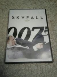 Skyfall DVD movie case Yorkville, 60560
