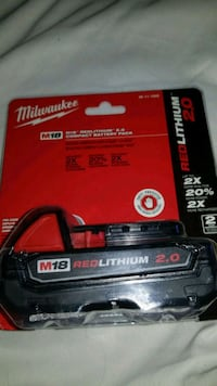 black and red Milwaukee battery charger Toronto, M1C 3R5