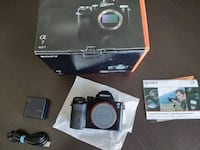 Sony A7 Mirrorless Full Frame Camera Lawrenceville, 30044