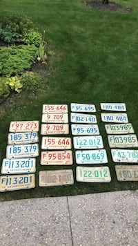 Antique SK plates. You pick the ones you want. Every plate over 40 yrs Edmonton, T6R 0B1