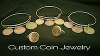 Custom Coin Bracelets, Rings & Charms Apopka