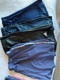 Men's sport shorts and t's