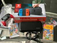 Nintendo Switch With Accessories (check desc.)  Airdrie, T4B 0P5