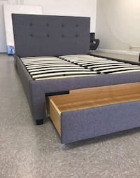 Brand New Queen Size Platform Bed w/Storage Drawer