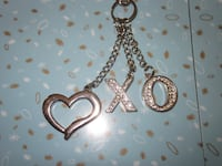 X O Heart Hugs and Kisses Waist Accent Chain Belt - One Size Winnipeg