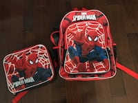 Spider man backpack and lunchbox  Ottawa, K1T