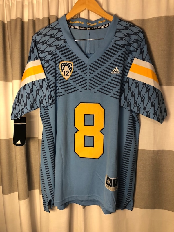 new concept c1533 6a64a Troy Aikman #8 UCLA college Adidas jersey