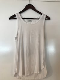 Babaton white women's tank top Surrey, V3S 7L9