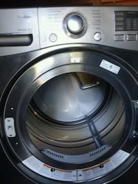 gray front-load washing machine Coram, 11727
