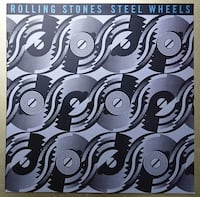 Rolling Stones ‎– Steel Wheels (Plak)