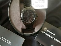 Brand new Citizen eco-drive black watch Guelph, N1H 4G7