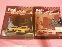dos libros ingleses reales