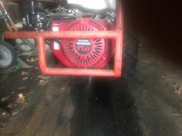Walk behind tractor BCS 732, w 11 hp Honda  Come with sickle bar, bush  mower, and street sweeper