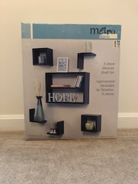 Metro home 6pc shelving unit $20