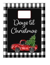 Christmas Countdown Board and Gifts from 5.00  Winder