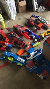 Nerf and boomco lot (with ammo)