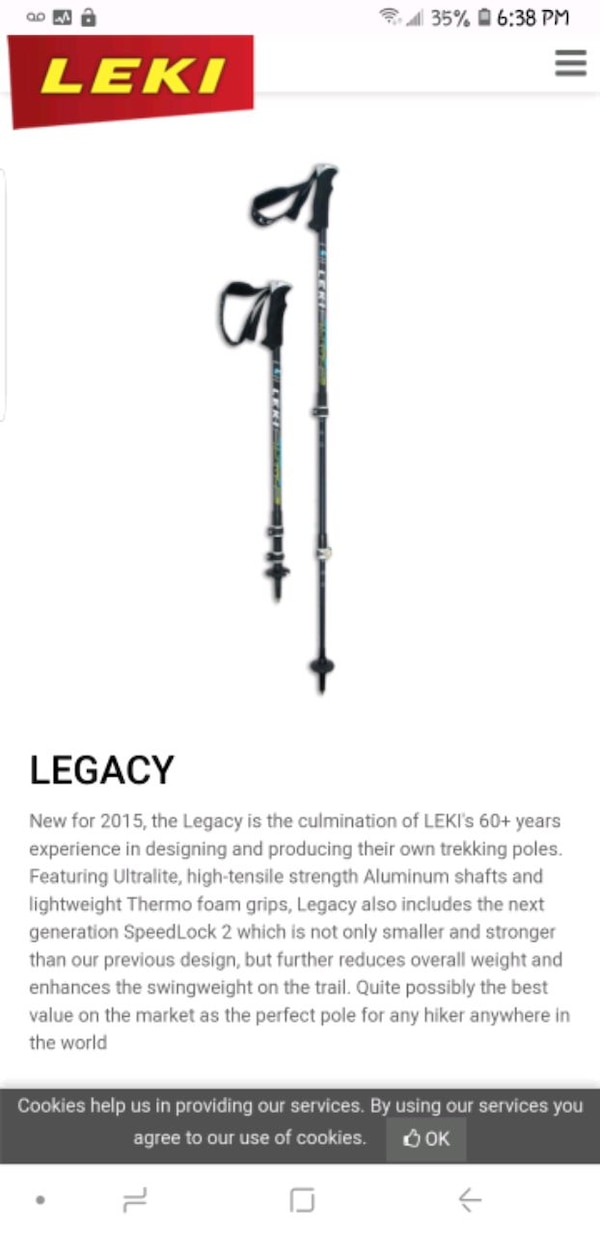 Brand new ski poles asking half price 3