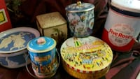 Vintage Tin Cookie and Candy Lot Niagara Falls