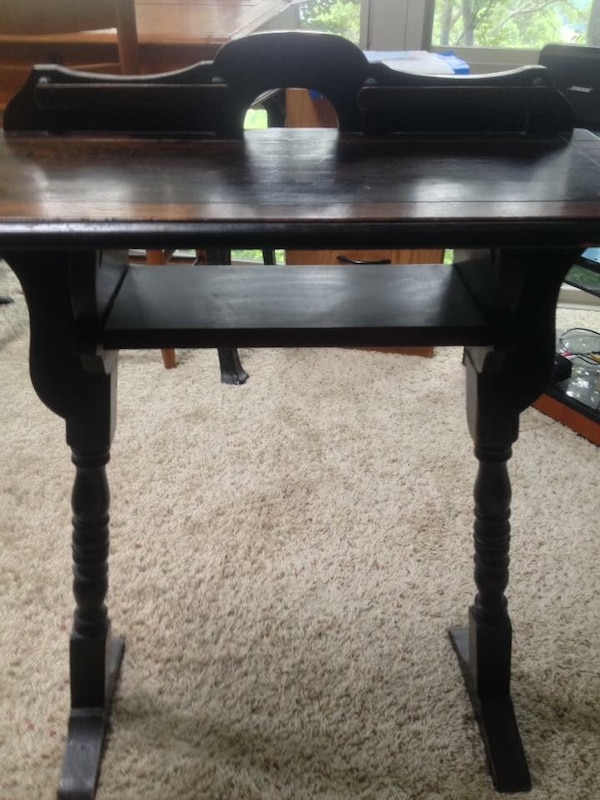 Used Antique Writing Desk Stagecoach Chair For Sale In Mills River