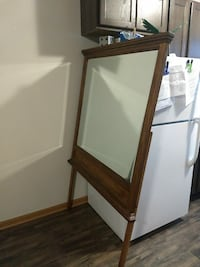 Huge wood framed mirror Allendale Charter Township, 49401