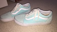 Blue/green old school vans   Size: 8.5 womans