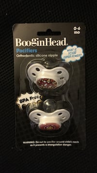 boogin head pacifiers orthodontic silicone nipple Montréal, H4C 1E6