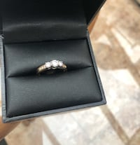 Gold ring bague en or Laval, H7G 6H5